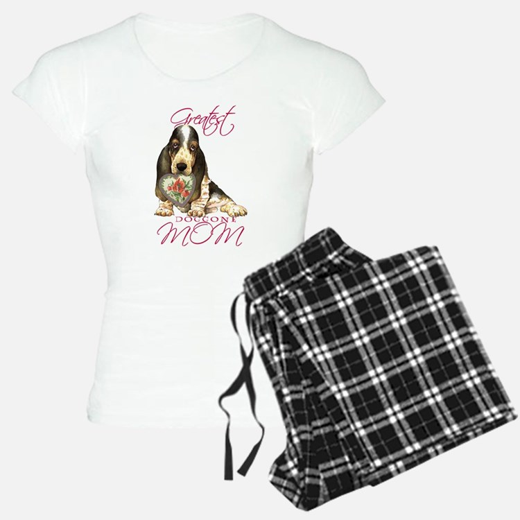 Basset Mom Pajamas