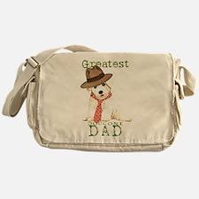 Bichon Dad Messenger Bag