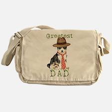 Husky Dad Messenger Bag