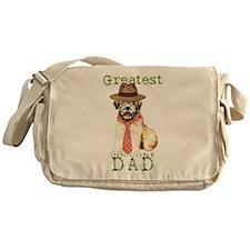 Wheaten Dad Messenger Bag