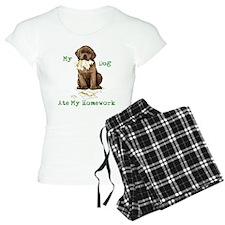 Lab Ate Homework Pajamas