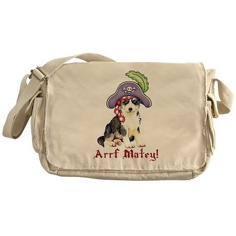 Husky Pirate Messenger Bag