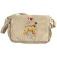 Afghan Hound Messenger Bag