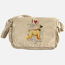 Afghan Hound Messenger Bag