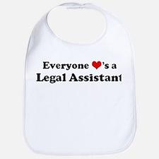 Loves a Legal Assistant Bib