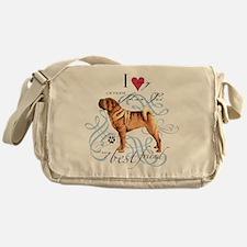 Shar-Pei Messenger Bag