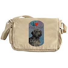 Curly-Coated Retriever Messenger Bag
