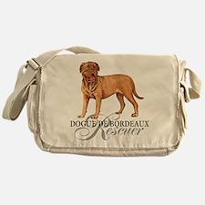 Dogue de Bordeaux Rescue Messenger Bag