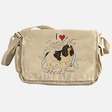 English Toy Spaniel Messenger Bag