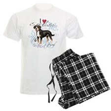 Entlebucher Mountain Dog Pajamas