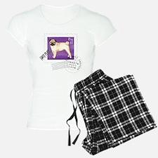 Pug Stamp Pajamas