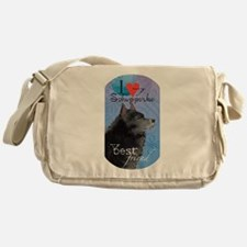 Schipperke Messenger Bag