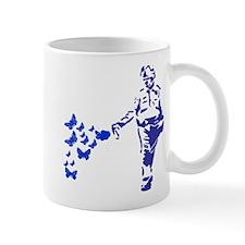 Pepper Spray Cop Butterflies Mug