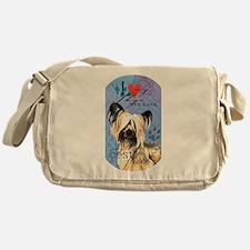 Skye Terrier Messenger Bag