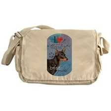 Toy Manchester Terrier Messenger Bag