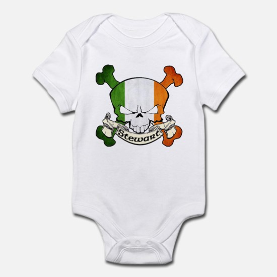 Stewart Skull Infant Bodysuit