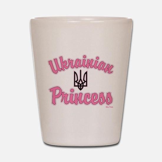 Ukie Princess Shot Glass