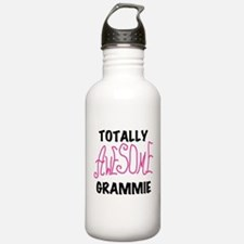 Pink Awesome Grammie Water Bottle