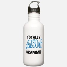 Blue Awesome Grammie Water Bottle