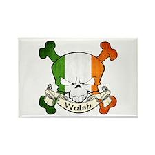 Walsh Skull Rectangle Magnet