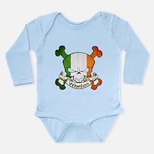 Whelan Skull Long Sleeve Infant Bodysuit