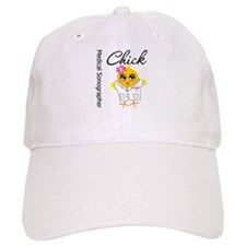 Medical Sonographer Chick Baseball Cap