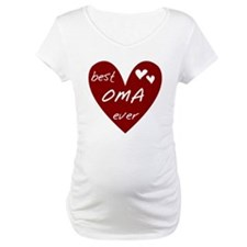 Heart Best Oma Ever Shirt