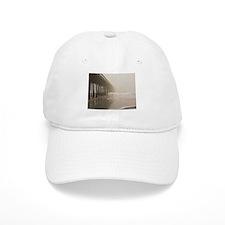 Pier in the Fog Baseball Cap
