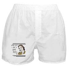 Retro Mimi Boxer Shorts