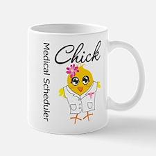 Medical Scheduler Chick Mug