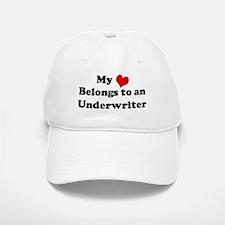 Heart Belongs: Underwriter Baseball Baseball Cap