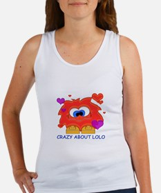 Crazy About Lolo Women's Tank Top