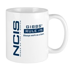 NCIS Gibbs Rule #15 Small Mug