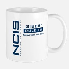 NCIS Gibbs Rule #15 Small Small Mug