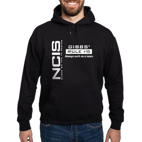 NCIS Gibbs Rule #15 Hoodie (dark)