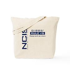 NCIS Gibbs Rule #15 Tote Bag