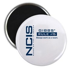 NCIS Gibbs Rule #15 Magnet