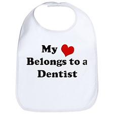 Heart Belongs: Dentist Bib