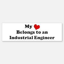 Heart Belongs: Industrial Eng Bumper Bumper Bumper Sticker