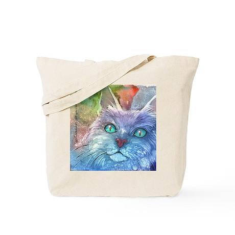 Boadious Blue Cat - Tote Bag