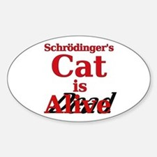 Schrodinger's Cat is Alive/Dead Quantum Physics St