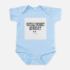 Politically Incorrectt! Infant Bodysuit
