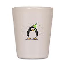 Party Penguin Shot Glass