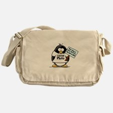 Pluto Penguin Messenger Bag