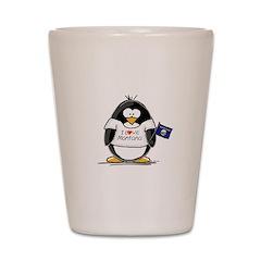 Montana Penguin Shot Glass