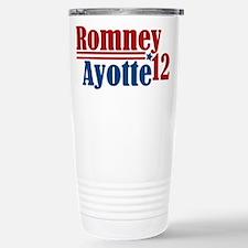 Romney Ayotte 2012 Travel Mug