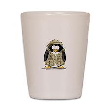 Safari Penguin Shot Glass