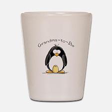 Grandma to Be Penguin Shot Glass