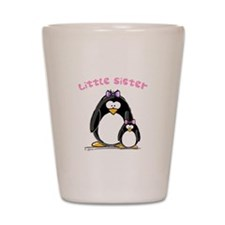 Little Sister penguin Shot Glass