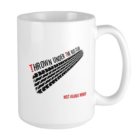 Thrown from the Bus Club - MVP Large Mug
